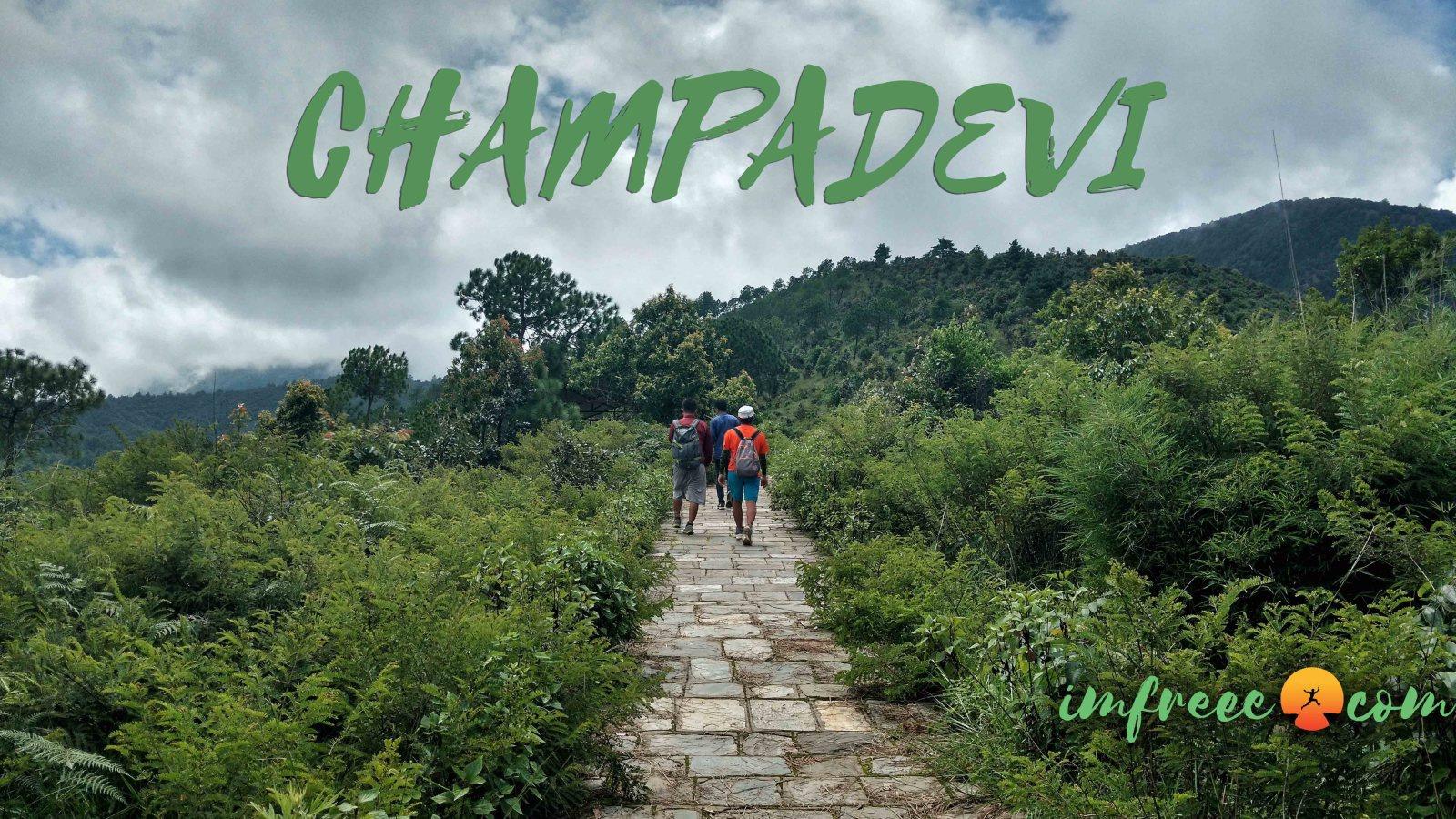 Champadevi Hiking Trail, Pharping