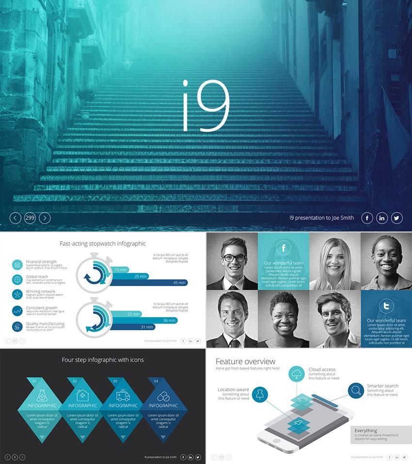 15 Template PowerPoint Profesional - untuk Presentasi Bisnis yang ...