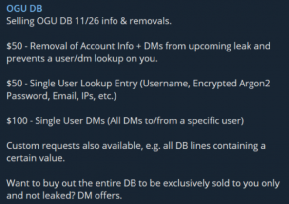 dark web marketplace OGUsers