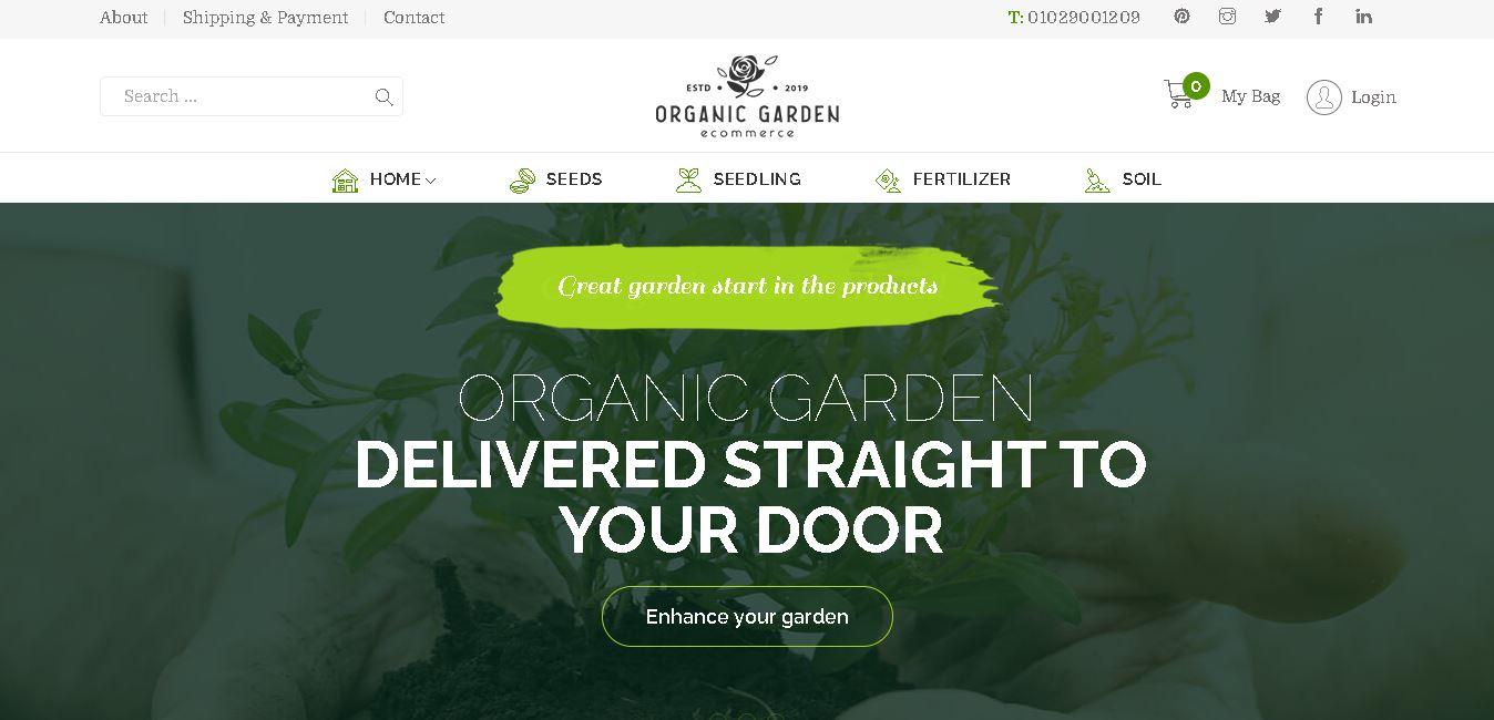 Organic woocommerce themes arangi