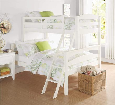 Aprodz Solid Wood Reese Bunk Bed For Bedroom