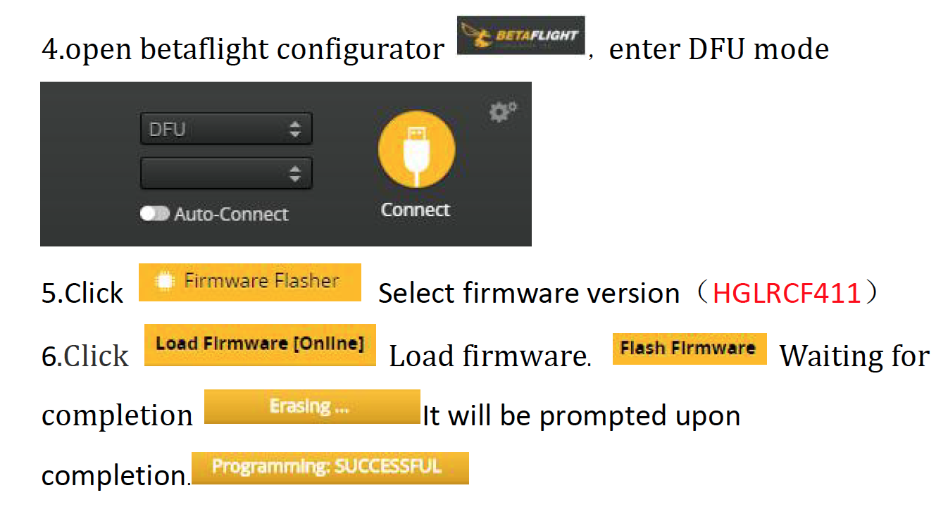 "Armattan Tadpole 2.5"" 設定<2>BetaFlight 4.1.5 前編"