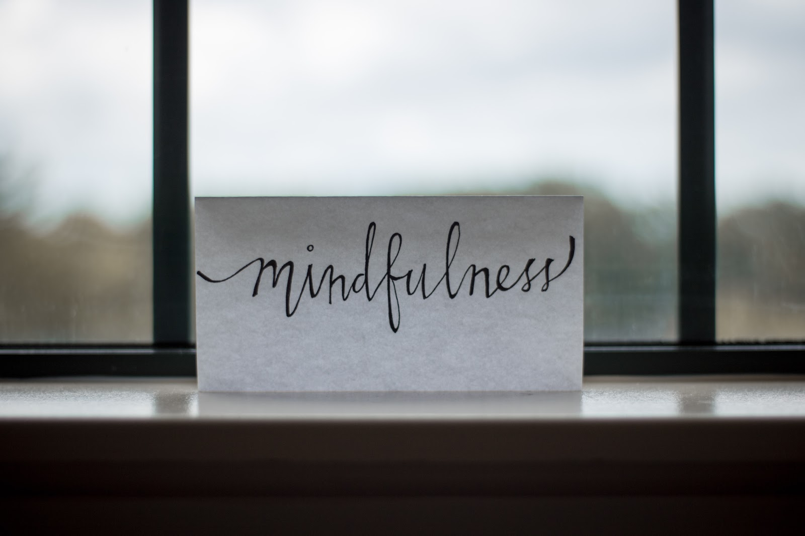 a note reminding us to practice mindfulness