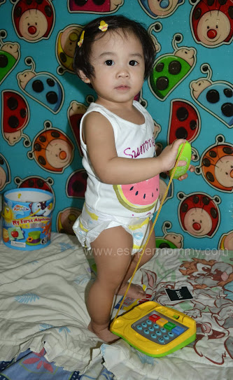 Mommy Jem's Cute Baby Girl