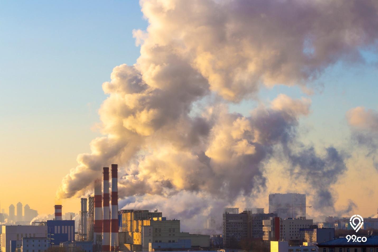 Contoh Pencemaran Udara di Lingkungan Sekitar dan Cara Mengatasinya