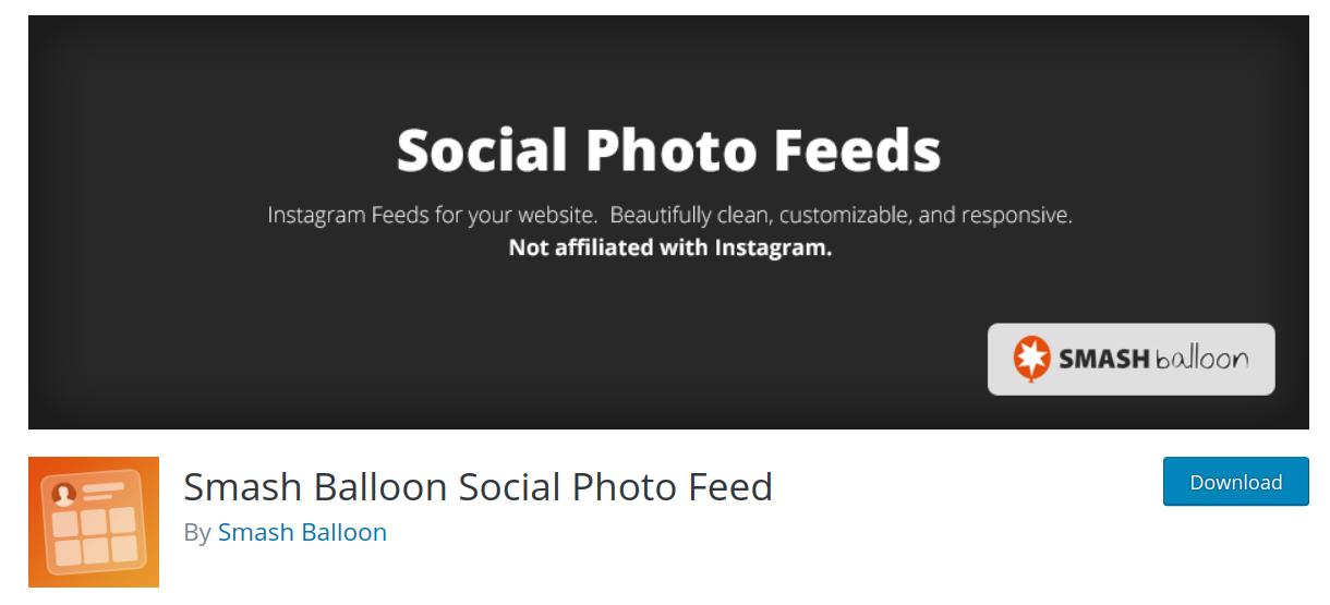 smash balloon wordpress social media plugin header