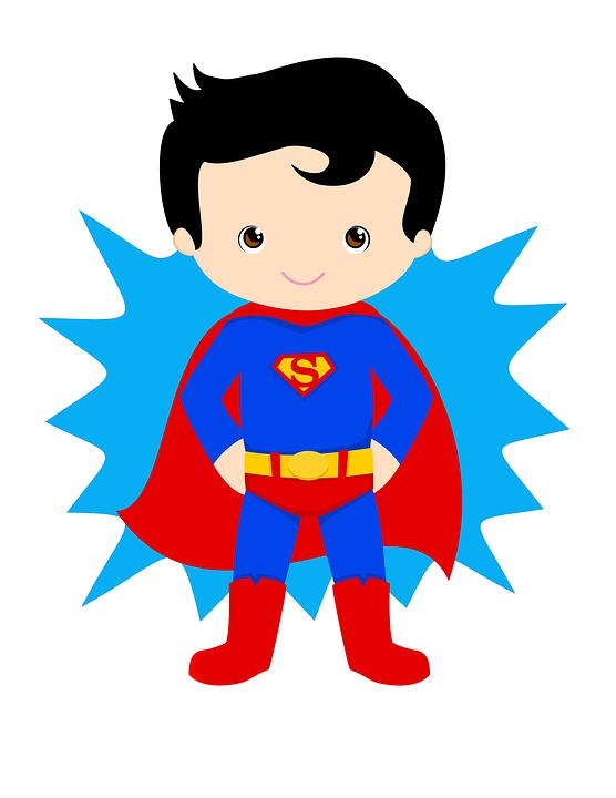Free illustration: Superman, Kid Hero, Superhero, Hero - Free ...