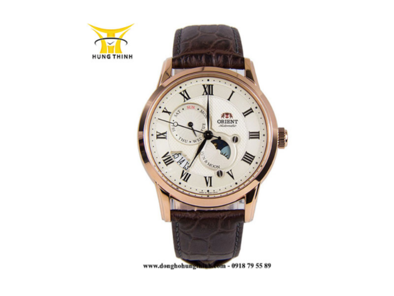 Một chiếc đồng hồ Orient Automatic dây da như thế này chỉ có giá 9.656.000 tại Hưng Thịnh có chất lượng được so sánh với những sản phẩm đến từ Thụy Sỹ (Chi tiết sản phẩm tại đây)