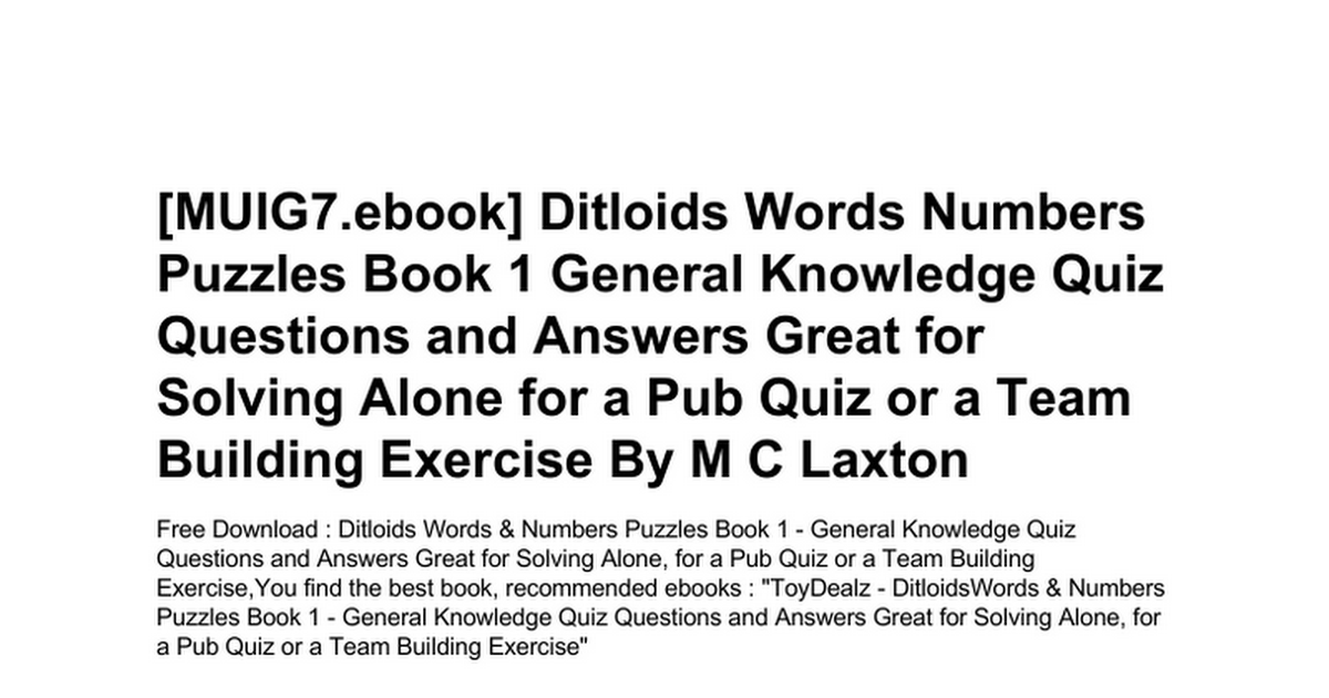 ditloids-words-numbers-puzzles-book-1-general-knowledge-quiz