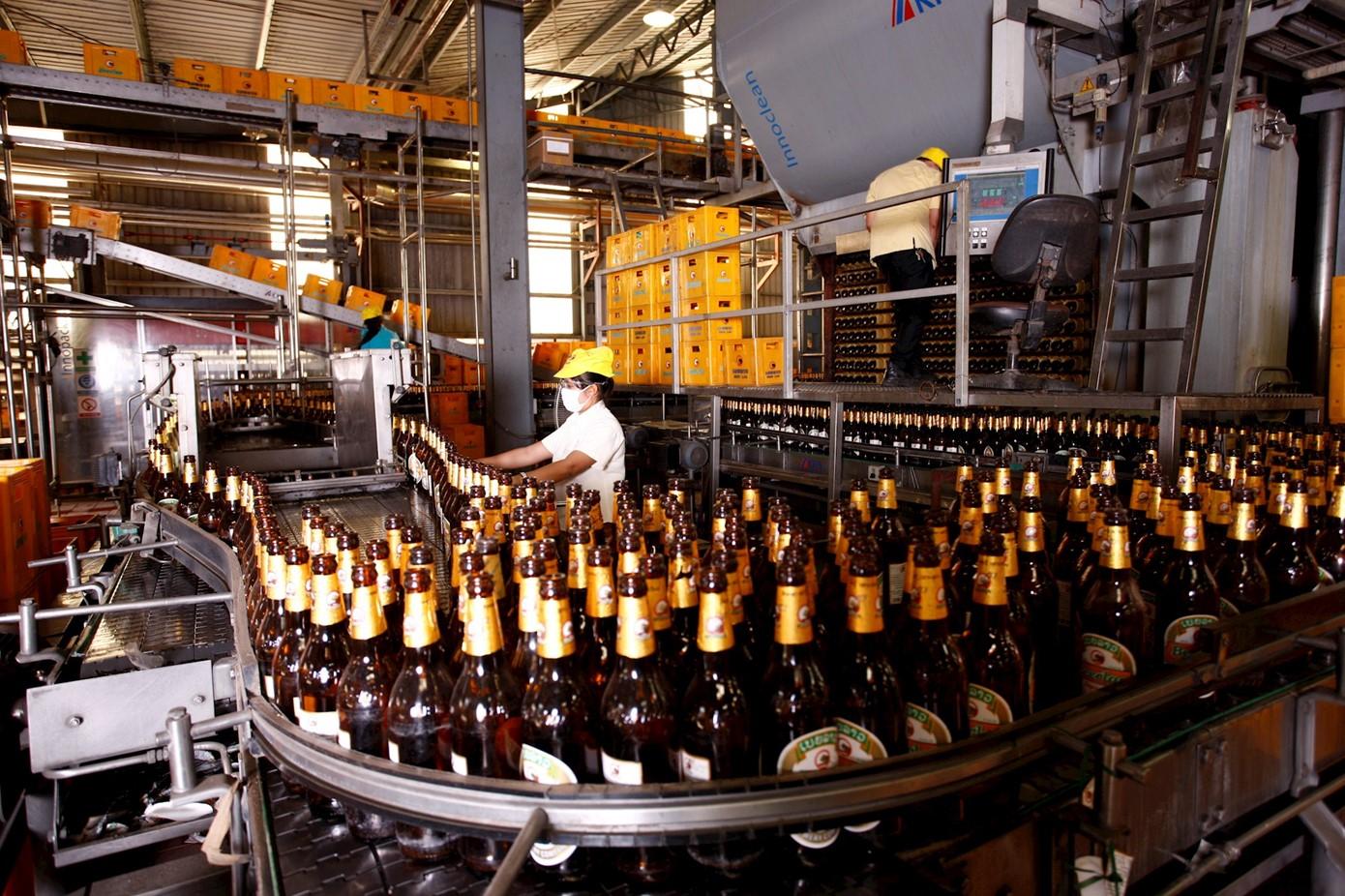 ứng dụng công nghệ UASB vào xử lý nước thải sản xuất bia, rượu
