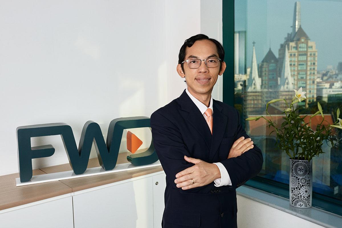 Anh Đào Hữu Phúc - Phó Tổng Giám đốc Nghiệp vụ Bảo hiểm và Công nghệ thông tin của FWD Việt Nam