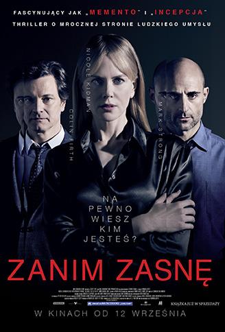 Polski plakat filmu 'Zanim Zasnę'