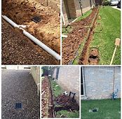 french drain service