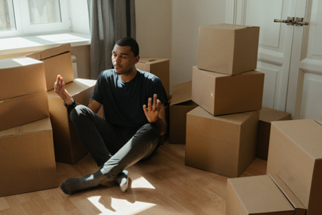 How to stay calm when moving and a new business.