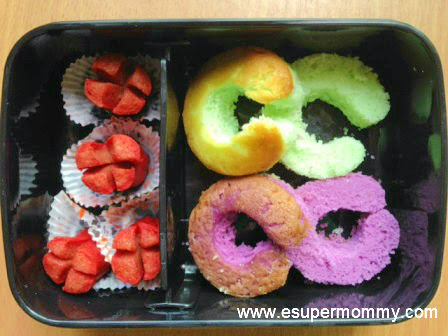 Cupcakes and Hotdogs Bento for School Baon