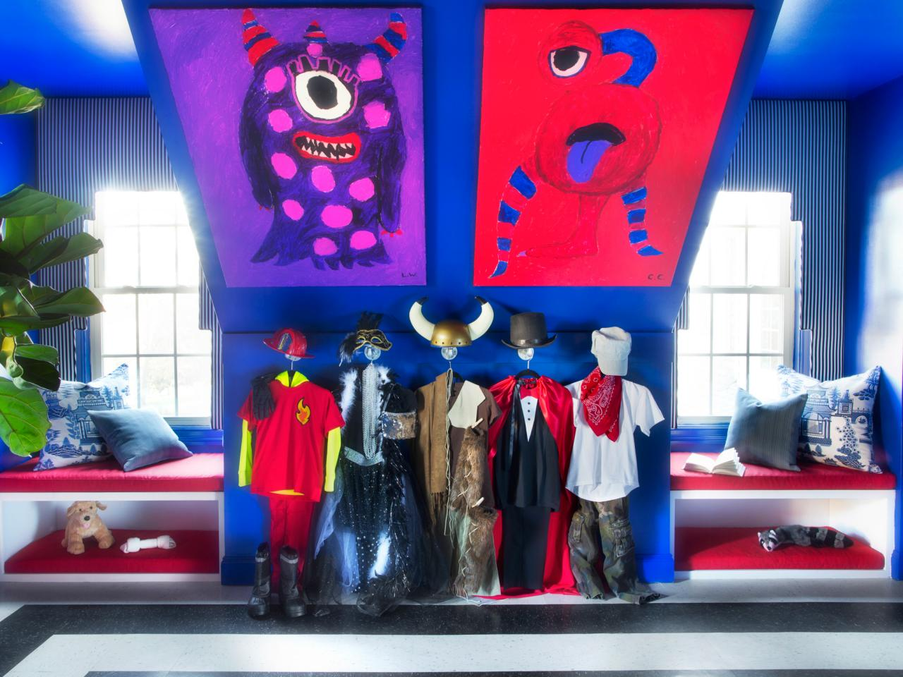Super Hero Costume Corner for Your Son