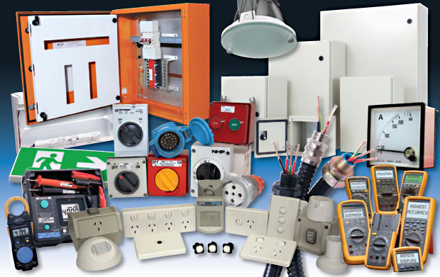 Electrical products at A Plus Lighting Sdn. Bhd.
