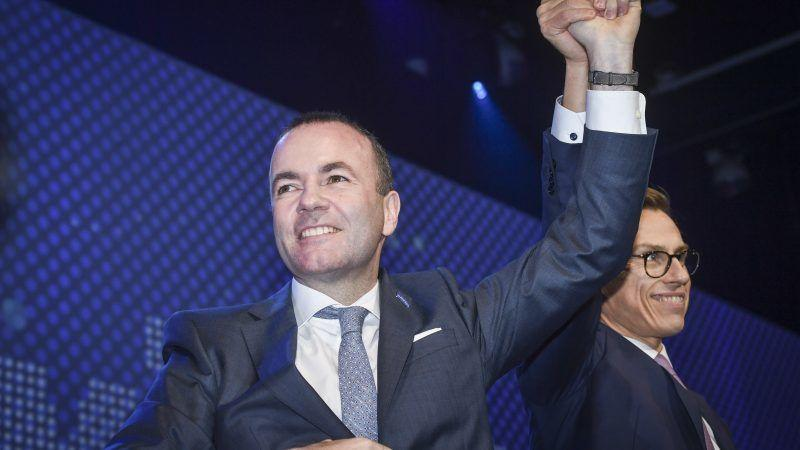Manfred Weber, Spitzenkandidat attendu du Parti populaire européen ...