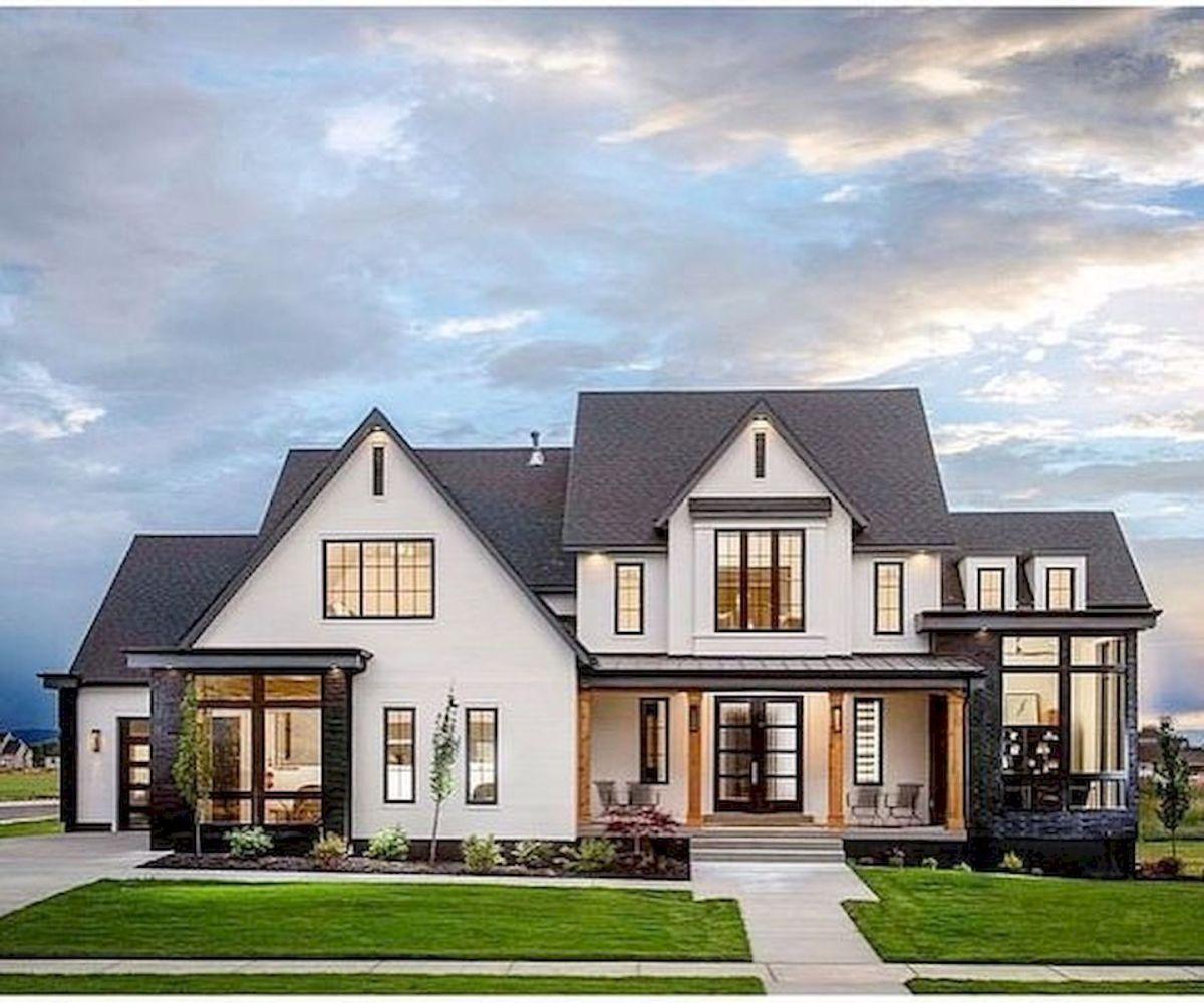 70 Most Popular Dream House Exterior Design Ideas (1) - Ideaboz