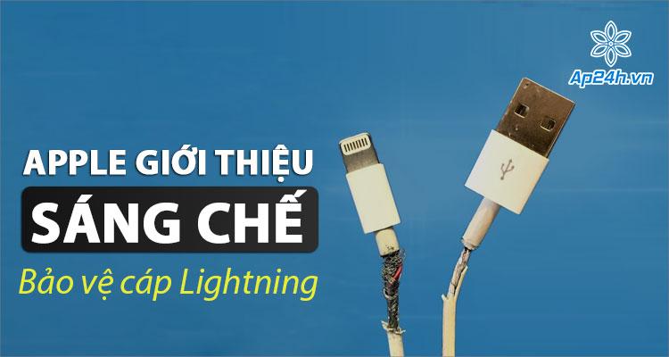 Apple mới có sáng chế để bảo vệ cáp Lightning cho iPhone