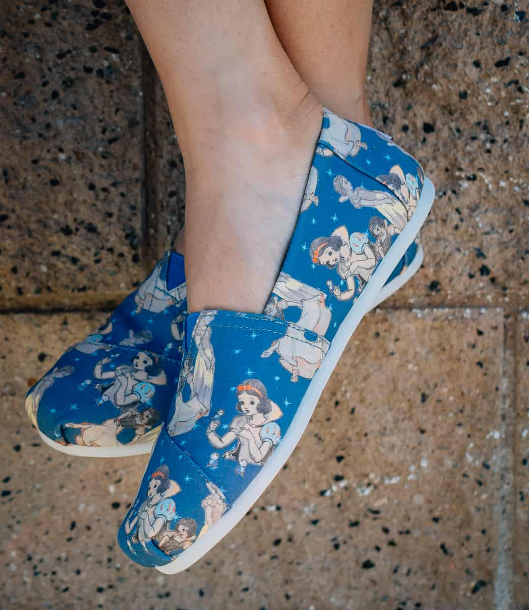Disney TOMS  Daily Mom parents portal holiday 2018 new shoes