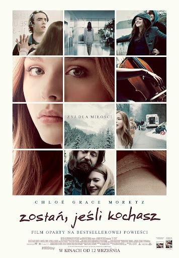 Polski plakat filmu 'Zostań, Jeśli Kochasz'
