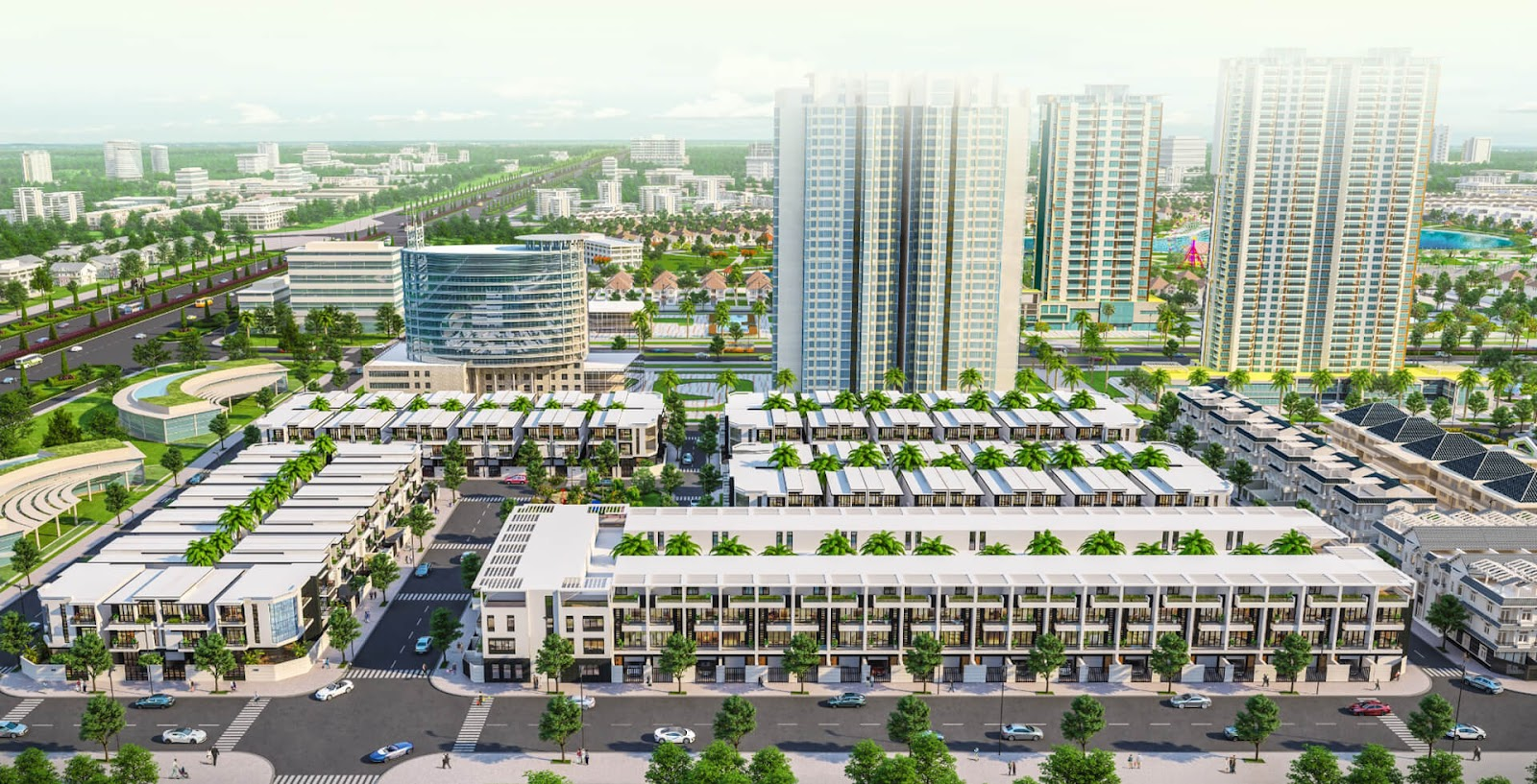 Những căn hộ kiểu mới tại Đông tăng Long