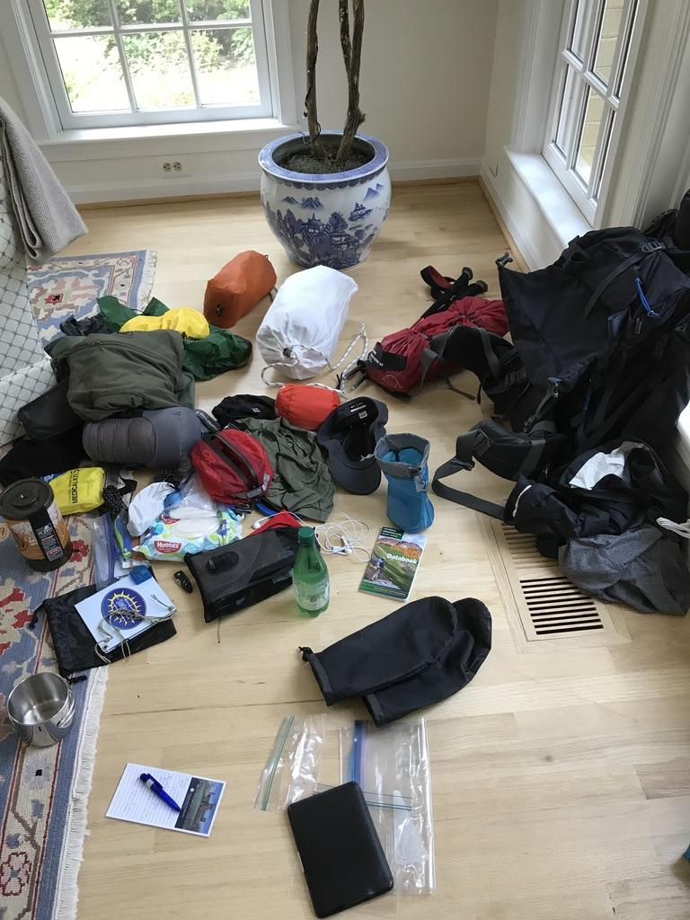 gear for colorado trail through hike