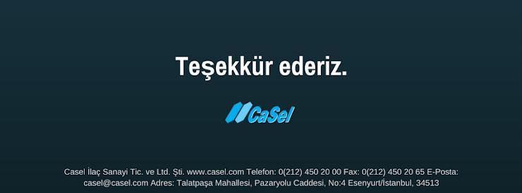Casel İlaç Sanayi © 2016