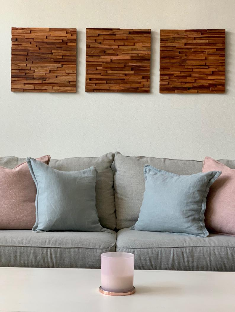 DIY Wall Decor With Reclaimed Wood