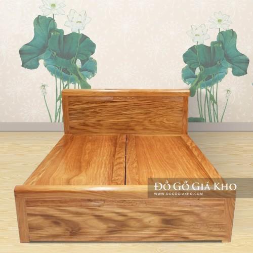 Giường ngủ gỗ Hương xám - GN065