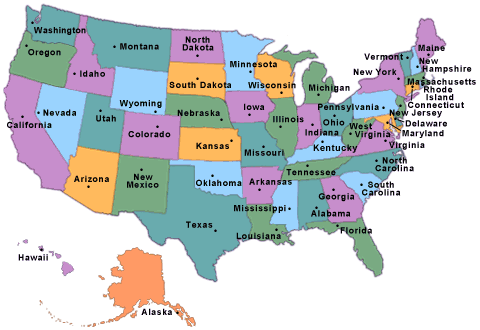 Solved Consider The Us State Map Below A Draw The Graph - Idaho-on-the-us-map