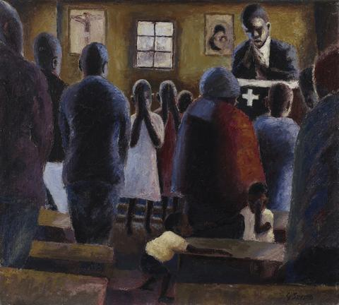Prayer in Church 1945 - 1947