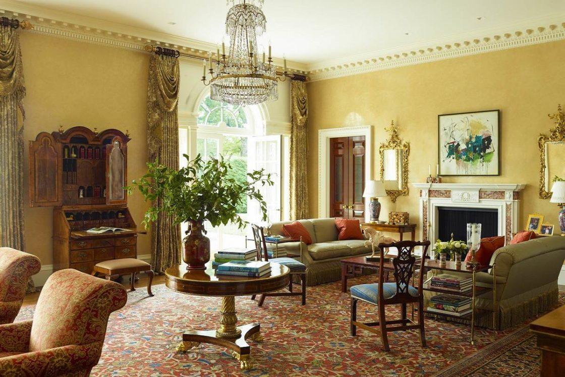Desain interior Georgian dipengaruhi oleh Andreas Palladio - source: dk-decor.com