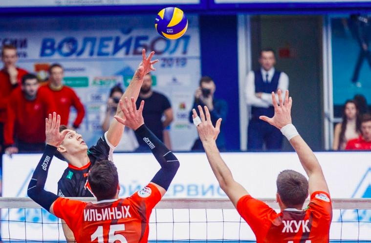 БК Париматч — новый партнёр мужской волейбольной Суперлиги!