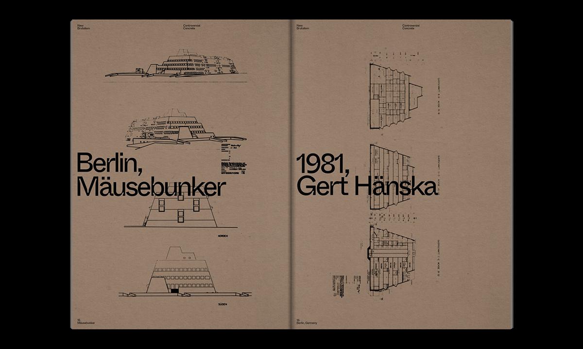 Editorial Design : New Brutalism Controversial Concrete 32