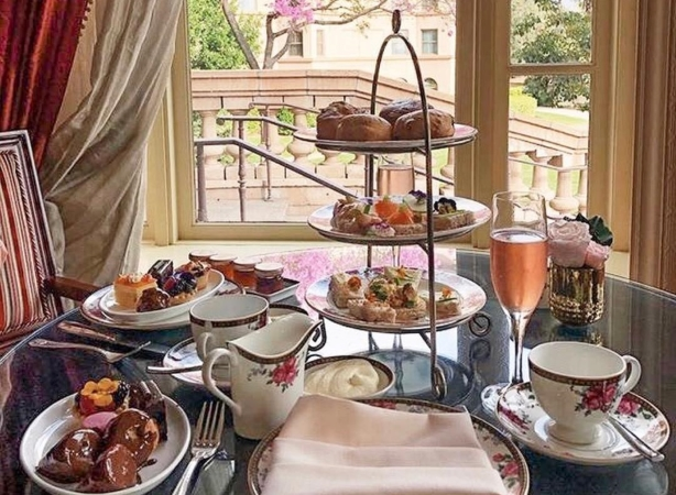 Afternoon Tea at The Langham Hotel in Pasadena, CA