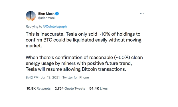 Why Tesla begins to accept Bitcoin again
