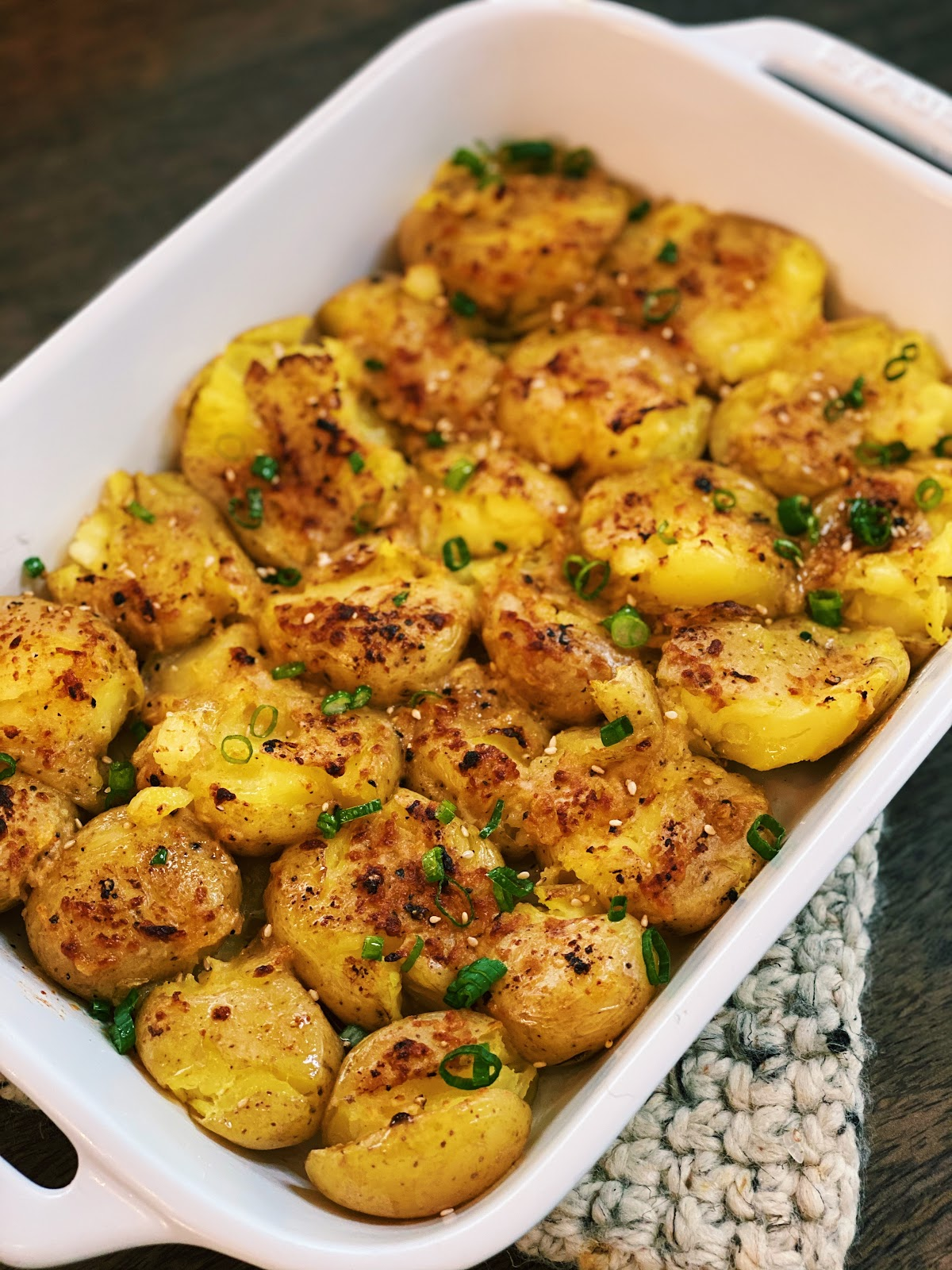 Crispy Potatoes with Miso Butter