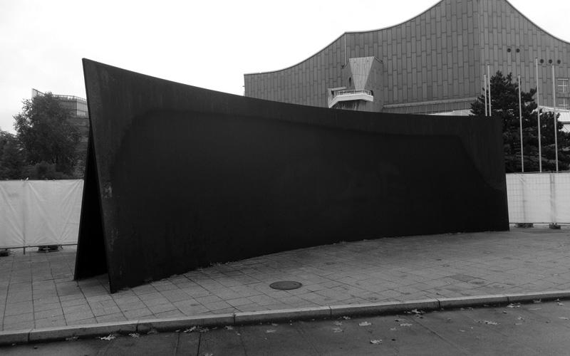 """""""Berlin Junction,"""" 1988–present, Kulturforum, Berlin."""