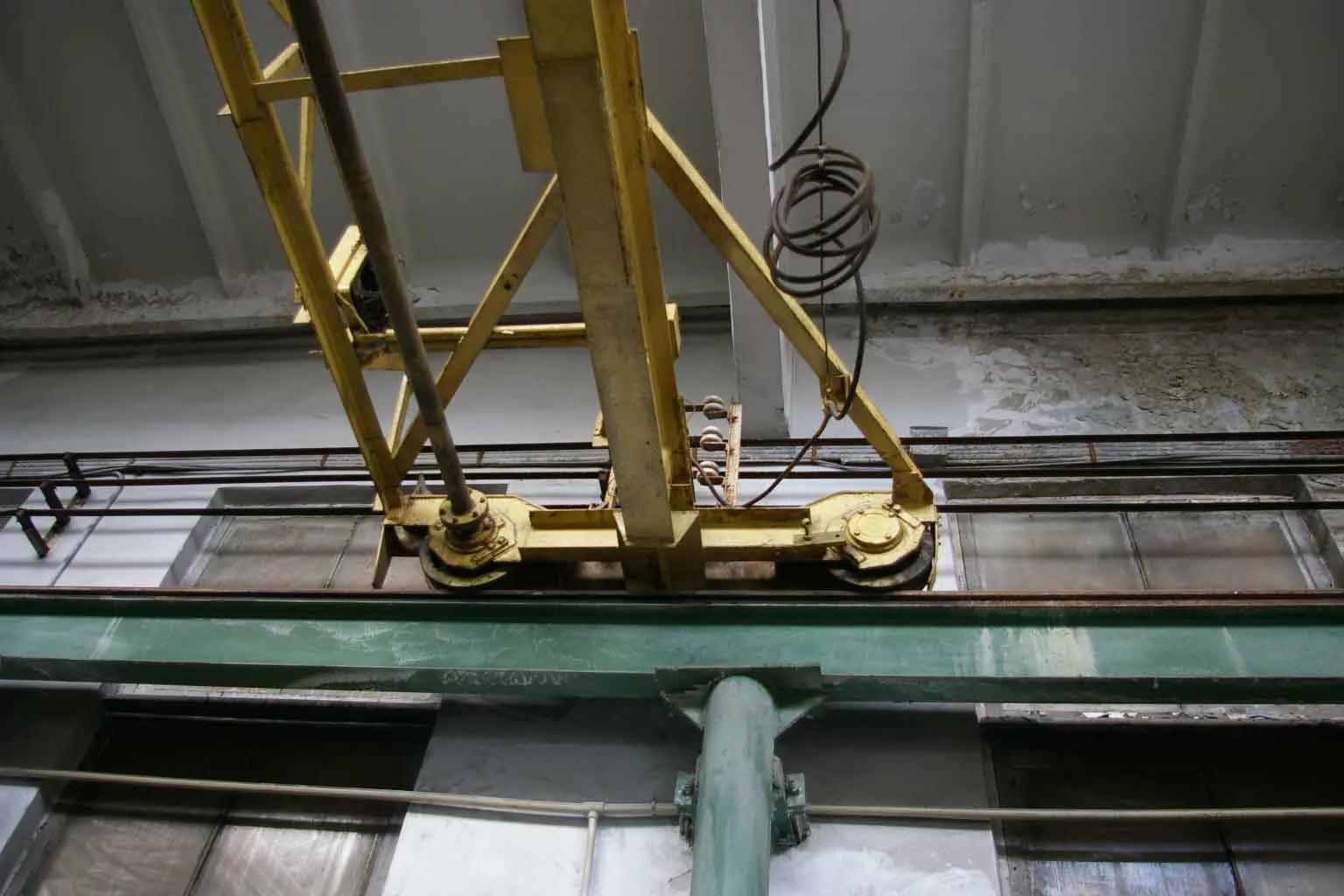 опорные детали мостового крана