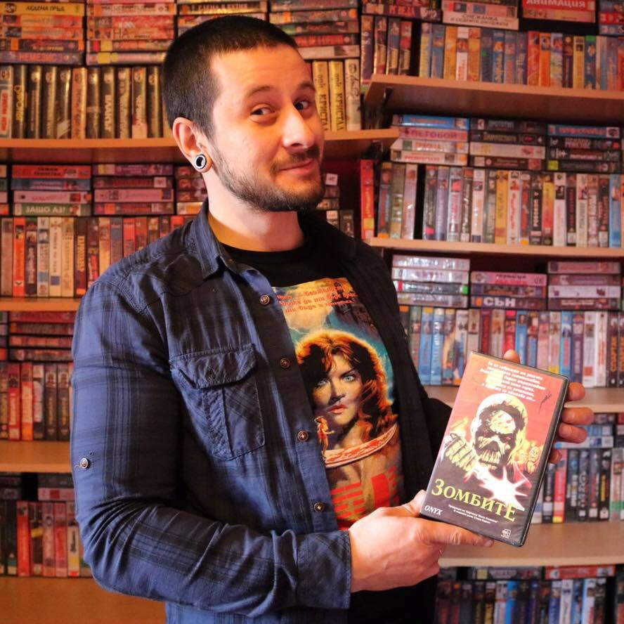 Danail and His VHS Collection