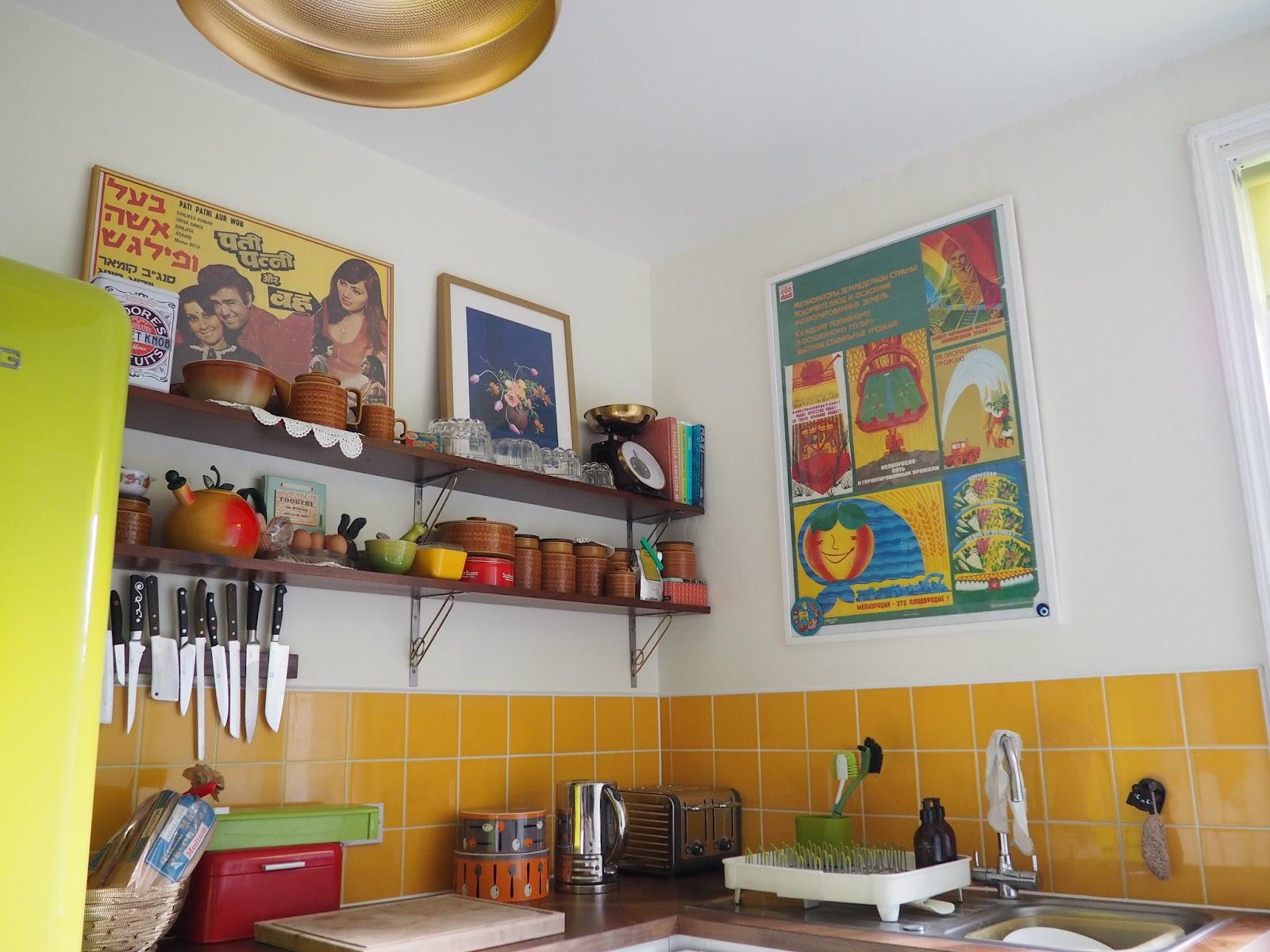 Kitchen shelving makeover