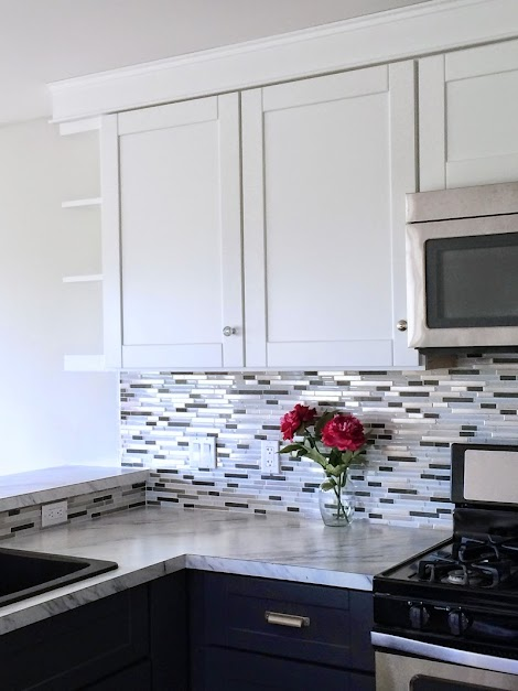 Mosaic Glass Tile Backsplash Ana White Woodworking Projects
