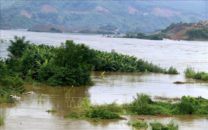 Nước ở đập Tam Hiệp vượt mức cảnh báo, hạ lưu sông Hồng tiếp tục lên cao - Ảnh 1