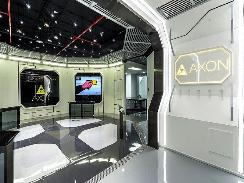 Không gian văn phòng phi thuyền của Axon