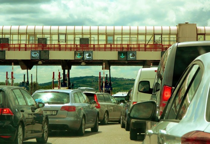 Toll Gate in Europe