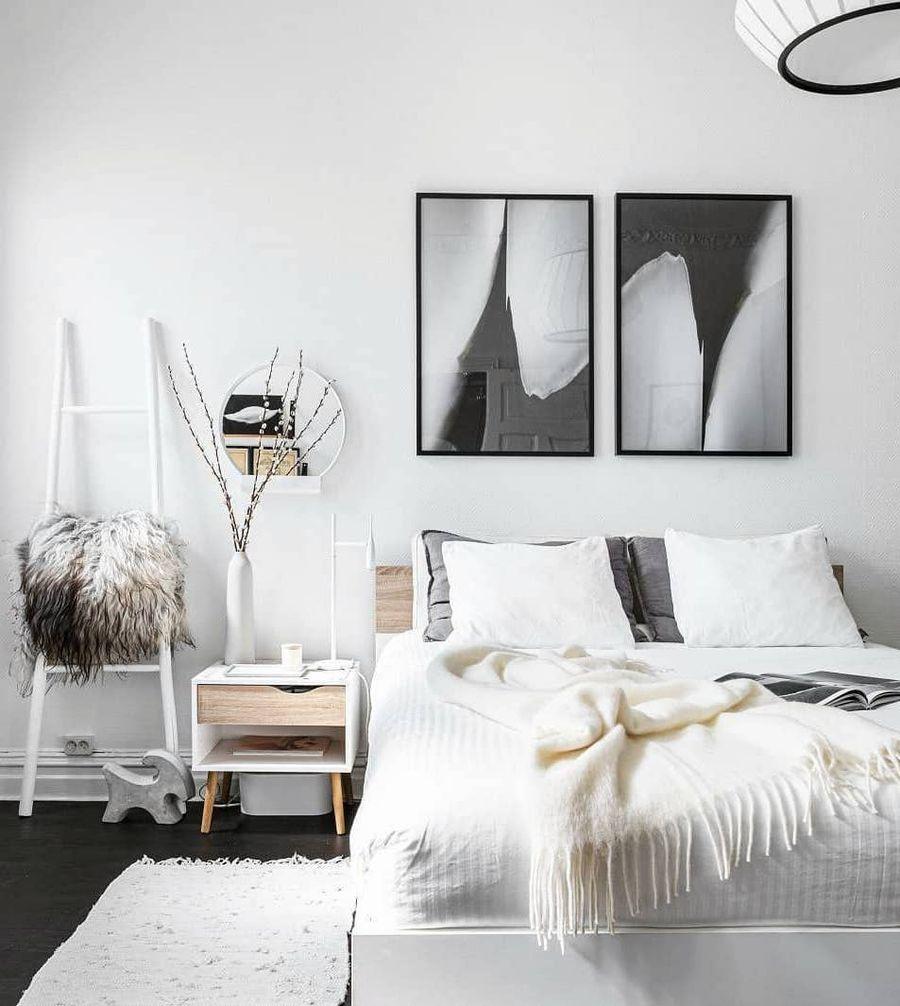 Modern Scandinavian Farmhouse Bedroom