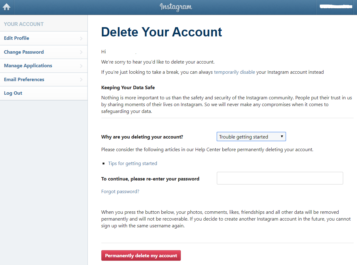 How to delete an Instagram account: step by step HERE