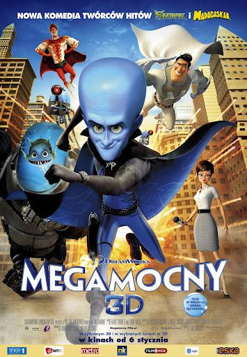Polski plakat filmu 'Megamocny'